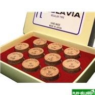 Molavia Наклейка для кия «Molavia» (M) 13 мм, интернет-магазин товаров для бильярда Play-billiard.ru. Фото 2