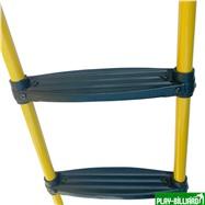 Weekend Лестница для  батута DFC 12-16 футов (три ступеньки) жёлтый цвет, интернет-магазин товаров для бильярда Play-billiard.ru. Фото 2