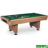 Weekend Бильярдный стол для пула «Eliminator» 7 ф (дуб) в комплекте, аксессуары + сукно, интернет-магазин товаров для бильярда Play-billiard.ru