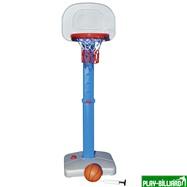 Баскетбольный щит на регулируемой опоре «Deluxe Basketball» (с мячом для мини-баскетбола), интернет-магазин товаров для бильярда Play-billiard.ru. Фото 1
