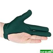 Longoni Перчатка бильярдная «RenzLine Bicolor» (зеленая), интернет-магазин товаров для бильярда Play-billiard.ru. Фото 2