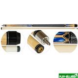 Classic Кий для пула 2-pc «Classic Helos CLH-3» (натуральный), интернет-магазин товаров для бильярда Play-billiard.ru