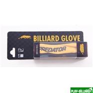 Predator Перчатка бильярдная «Predator» (черно-желтая) L&XL, интернет-магазин товаров для бильярда Play-billiard.ru. Фото 1