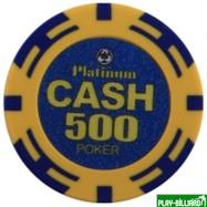 Набор для покера Cash на 500 фишек, интернет-магазин товаров для бильярда Play-billiard.ru. Фото 9