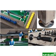 Weekend Настольный футбол «Champion Pro» (140х74х86, сельский дуб), интернет-магазин товаров для бильярда Play-billiard.ru. Фото 5