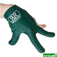 Longoni Перчатка бильярдная «RenzLine Bicolor» (зеленая), интернет-магазин товаров для бильярда Play-billiard.ru. Фото 3
