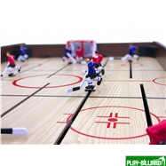 Weekend Хоккей «Легенда 17» (141.5 x 72.4 x 81 см, коричневый), интернет-магазин товаров для бильярда Play-billiard.ru. Фото 6