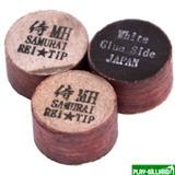 REI TIP & MAX Co. Наклейка для кия «Rei Samurai White» (MН) 14 мм, интернет-магазин товаров для бильярда Play-billiard.ru