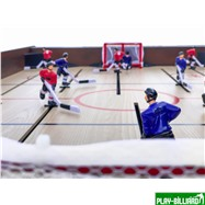 Weekend Хоккей «Легенда 17» (141.5 x 72.4 x 81 см, коричневый), интернет-магазин товаров для бильярда Play-billiard.ru. Фото 7