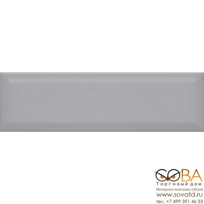 Плитка Аккорд серый грань 9014 8,5х28,5х9,2 купить по лучшей цене в интернет магазине стильных обоев Сова ТД. Доставка по Москве, МО и всей России