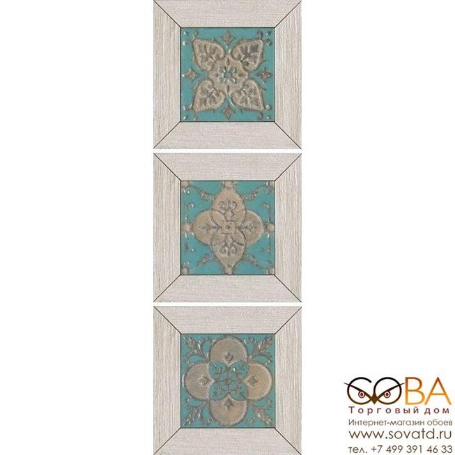 Декор Kerama Marazzi Вставка Меранти белый мозаичный 13х13 купить по лучшей цене в интернет магазине стильных обоев Сова ТД. Доставка по Москве, МО и всей России