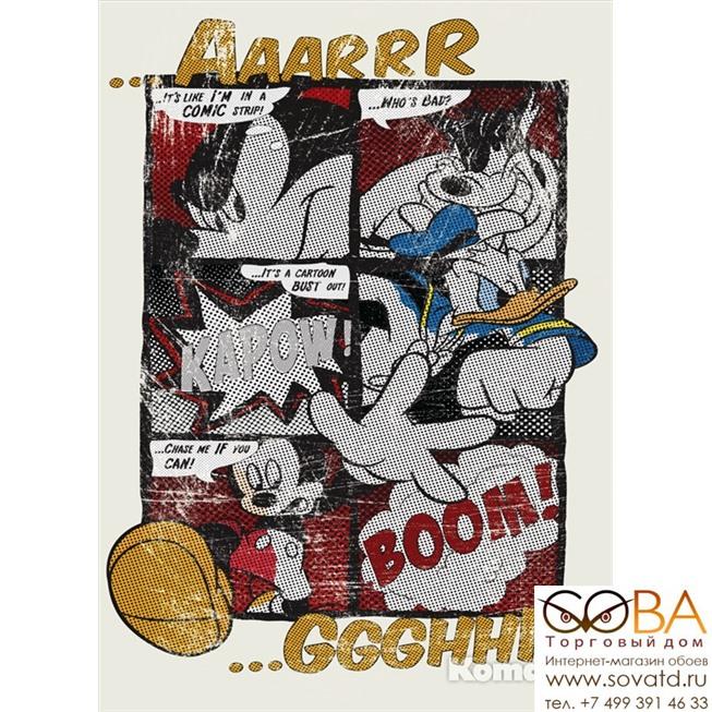 Фотообои Komar Mickey's Great Escape артикул 4-421 размер 184 x 254 cm площадь, м2 4,6736 на бумажной основе купить по лучшей цене в интернет магазине стильных обоев Сова ТД. Доставка по Москве, МО и всей России