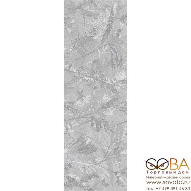 Декор Creto Вставка Royal Sand Vetro Grey W\DEC M 25х75 NR Mat 1 купить по лучшей цене в интернет магазине стильных обоев Сова ТД. Доставка по Москве, МО и всей России