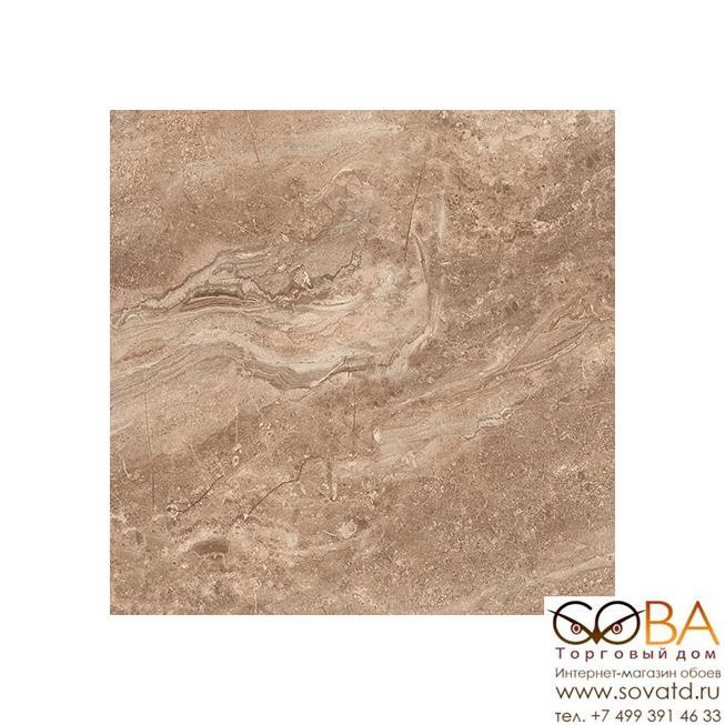 Плитка Polaris  напольная коричневый 16-01-15-492 38,5х38,5 купить по лучшей цене в интернет магазине стильных обоев Сова ТД. Доставка по Москве, МО и всей России