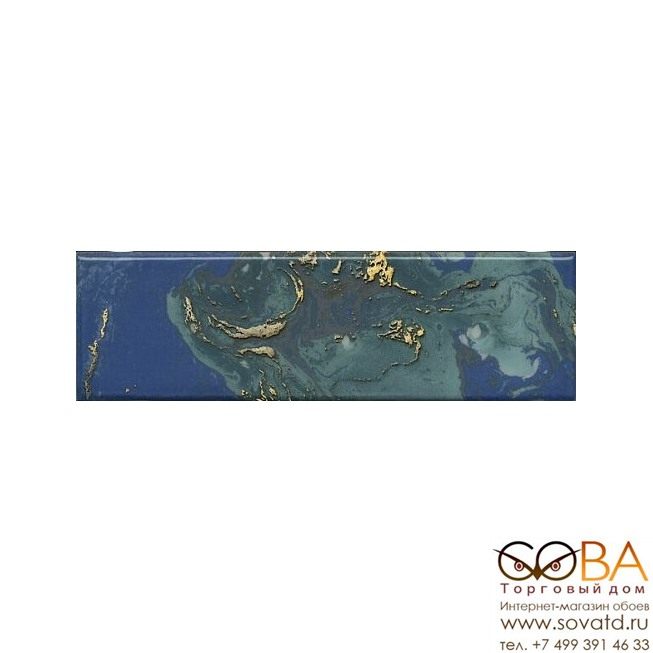 Декор Kerama Marazzi  Дарсена 8,5х28,5 купить по лучшей цене в интернет магазине стильных обоев Сова ТД. Доставка по Москве, МО и всей России