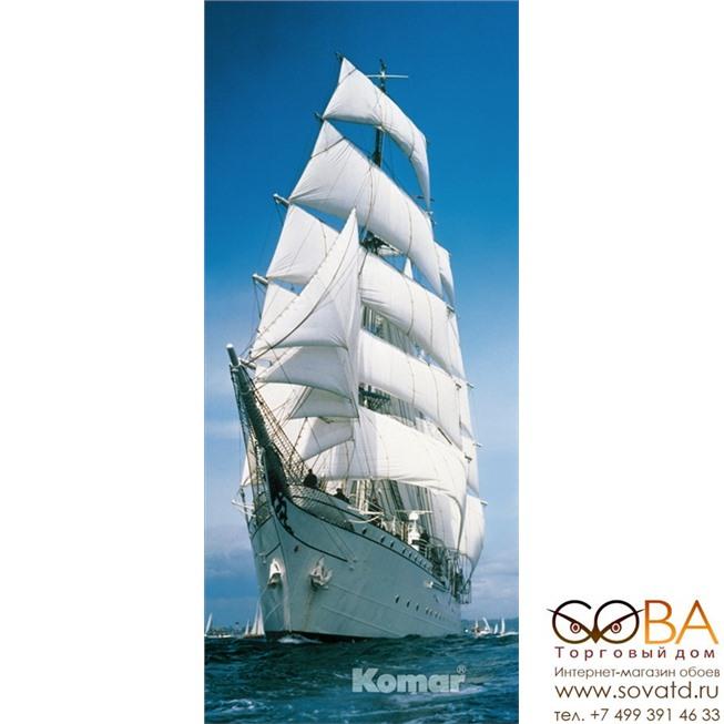 Фотообои Komar Sailing Boat артикул 2-1017 размер 86 x 220 cm площадь, м2 1,892 на бумажной основе купить по лучшей цене в интернет магазине стильных обоев Сова ТД. Доставка по Москве, МО и всей России