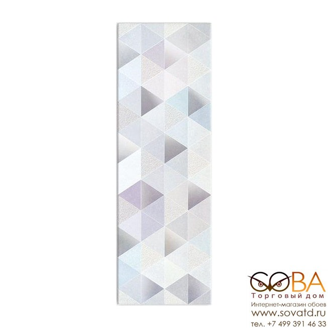 Декор Meissen Вставка Geometric Game Multicolour 25х75 купить по лучшей цене в интернет магазине стильных обоев Сова ТД. Доставка по Москве, МО и всей России