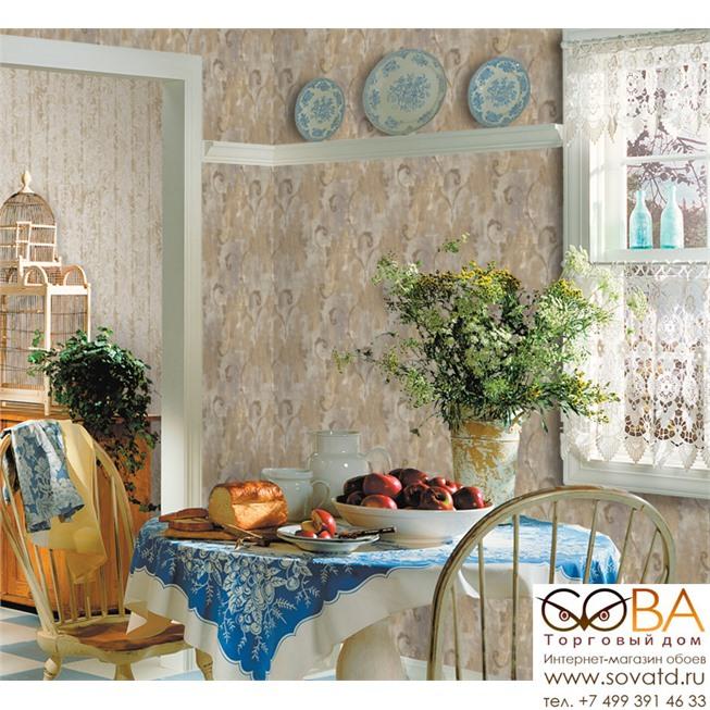 Обои Seabrook FR61508 Affresco купить по лучшей цене в интернет магазине стильных обоев Сова ТД. Доставка по Москве, МО и всей России