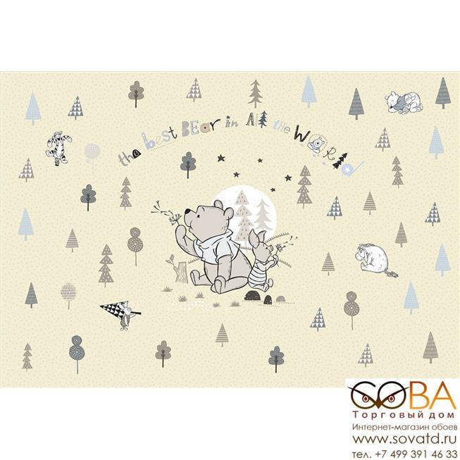 Фотообои Komar Winnie Pooh Best Bear артикул 8-4024 размер 368 x 254 cm площадь, м2 9,3472 на бумажной основе купить по лучшей цене в интернет магазине стильных обоев Сова ТД. Доставка по Москве, МО и всей России