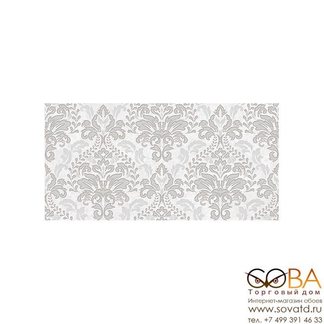 Декор Afina Damask  серый 08-03-06-456 20х40 купить по лучшей цене в интернет магазине стильных обоев Сова ТД. Доставка по Москве, МО и всей России