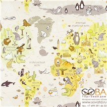 Обои Артекс OVK 10078-02 Детство купить по лучшей цене в интернет магазине стильных обоев Сова ТД. Доставка по Москве, МО и всей России