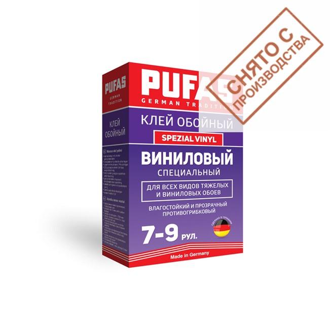 Клей Pufas виниловый специальный 200 гр. купить по лучшей цене в интернет магазине стильных обоев Сова ТД. Доставка по Москве, МО и всей России