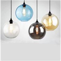 """Подвесной стеклянный светильник """"шар"""""""