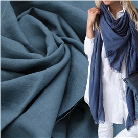 Конопляная ткань синий ультрамарин #76