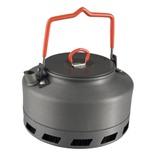 Чайник походный алюминиевый c радиатором Helios 1 л CAMPSOR-200L1