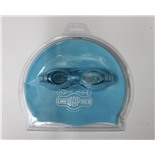 Набор для плавания Смешарики (очки+шапочка) 3-KC (SMSS-101)
