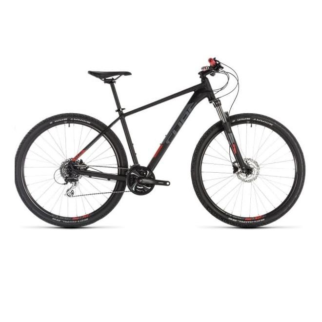 Велосипед CUBE AIM RACE 27.5 (black'n'red) 2019, интернет-магазин Sportcoast.ru