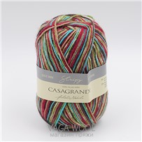 Пряжа Stripy цвет 268, 210м/50г, Casagrande