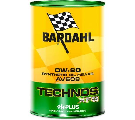 Bardahl C60 TECHNOS XFS AV 508 0W-20 (1 л.)