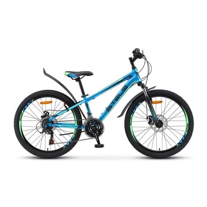 Велосипед Stels Navigator 24' 400 MD V010 Тёмно-синий/розовый (LU088428), интернет-магазин Sportcoast.ru