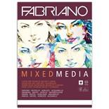 Альбом для рисования А4 Fabriano Mixed Media 40 листов, 250 г/м2, мелкое зерно 19100381