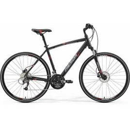 Велосипед Merida Crossway 40D Matt Black/Red/Grey (2017), интернет-магазин Sportcoast.ru