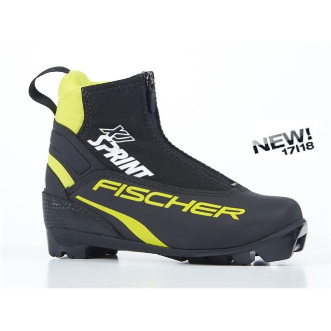 Ботинки NNN Fischer XJ Sprint S40817, интернет-магазин Sportcoast.ru