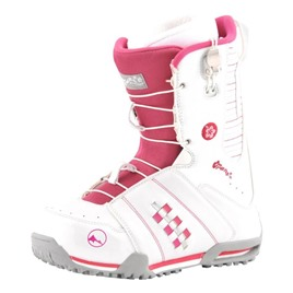 Ботинки для сноуборда TRANS Girl Rider white, интернет-магазин Sportcoast.ru