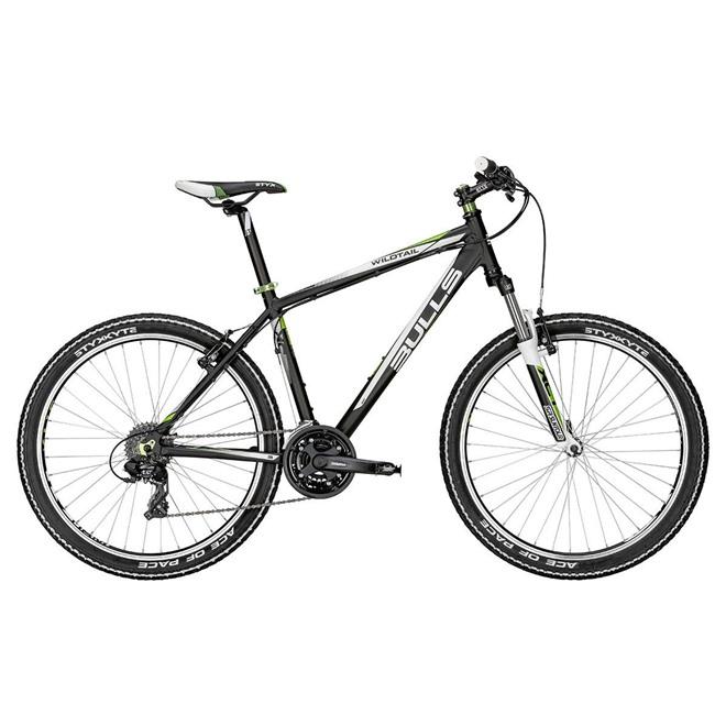 Велосипед Bulls Wildtail (2015) Black/Green, интернет-магазин Sportcoast.ru