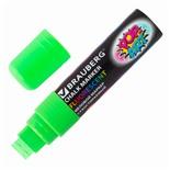 Маркер меловой Brauberg Pop-Art линия 15 мм зеленый 151542