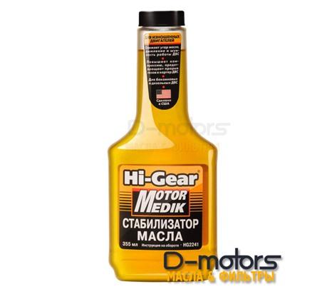 Стабилизатор вязкости HI-GEAR motor medik (355 мл)