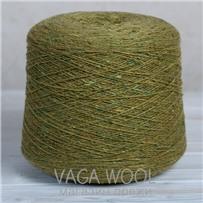 Пряжа Твид-мохер Зелень холмов 2731, 200м/50гр. Knoll Yarns, Mohair Tweed, Killala
