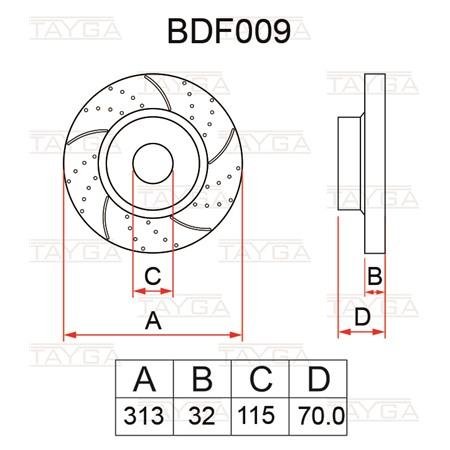 BDF009