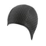 Шапочка для плавания Babble Cap 3115-20, резина, черный