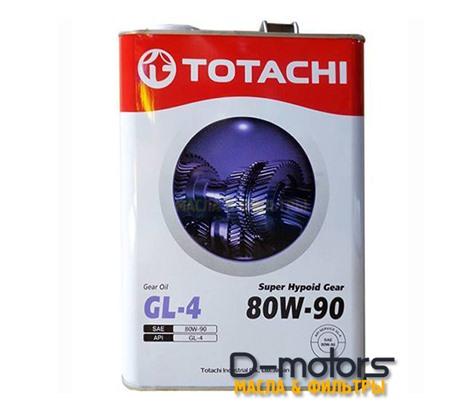 TOTACHI SUPER HYPOID 80W-90 (4л.)