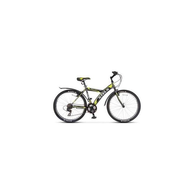 Велосипед Stels Navigator 530 V V010 Серый/Черный/Салатовый , интернет-магазин Sportcoast.ru