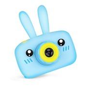 Детский фотоаппарат CARTOON DIGITAL Зайка голубой