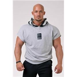 NE Reg top with hoodie цв.светло-серый