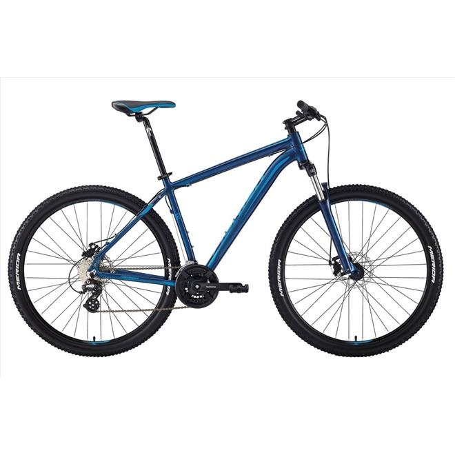 Велосипед Merida Big Nine 15-MD Matt Black (Grey/Signal Red) 2018, интернет-магазин Sportcoast.ru