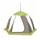 Палатка рыбака Нельма 3 (автомат) (оранжевый/белый/серо-голубой)